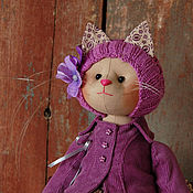 Куклы и игрушки ручной работы. Ярмарка Мастеров - ручная работа Кошечка Kiele. Handmade.