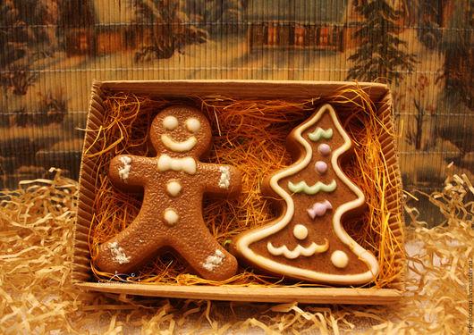 Подарки на Новый год и Рождество.Набор подарочного мыла. Edenicsoap.