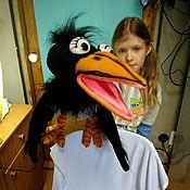 Куклы и игрушки handmade. Livemaster - original item Puppet theatre: Crow puppets more the size of 55 cm. Puppets. Handmade.