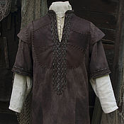 """Одежда ручной работы. Ярмарка Мастеров - ручная работа Куртка """"Викинг"""" (по мотивам костюма Рагнара Лодброка). Handmade."""