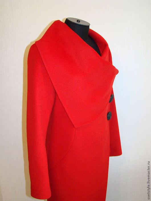Купить красивое пальто. Индивидуальный пошив на заказ. Ярмарка Мастеров - ручная работа. Дизайнер Лана Морозова