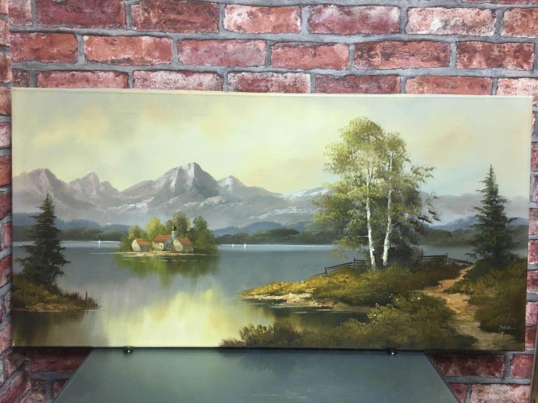 Картина «горный пейзаж», Картины, Москва,  Фото №1