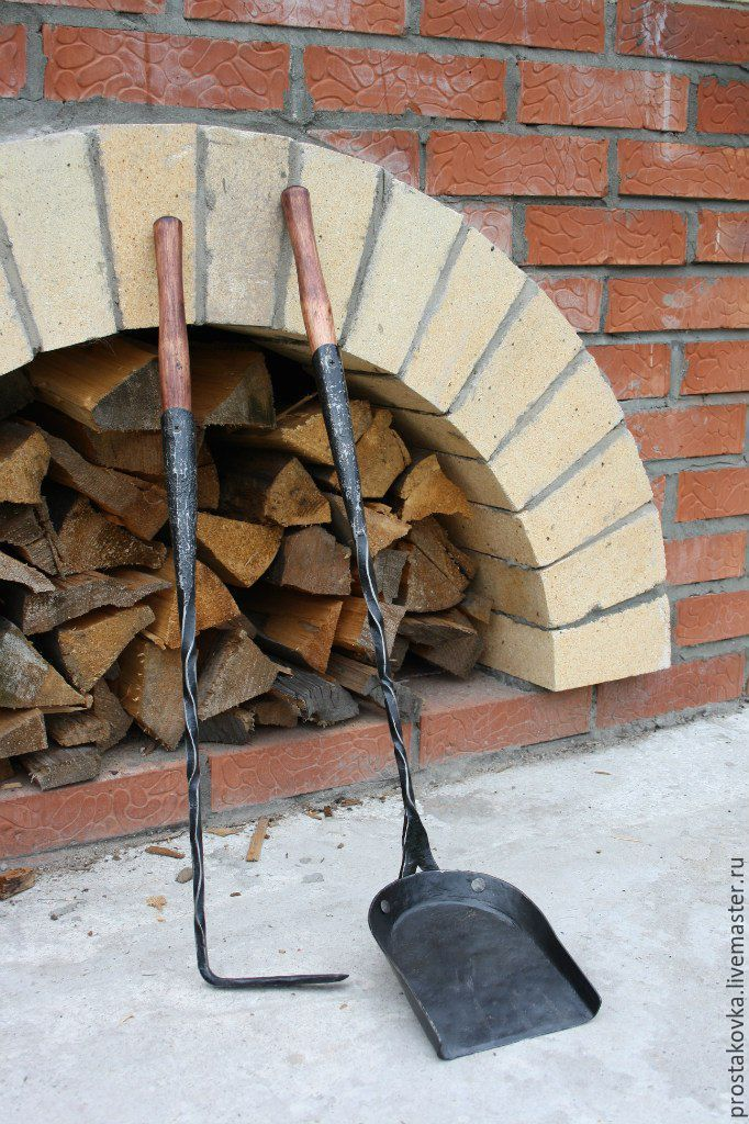 Fireplace tools, Interior elements, Permian,  Фото №1