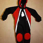 Одежда детская handmade. Livemaster - original item Windproof coverall. Handmade.