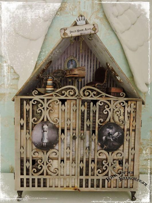 """Мини-комоды ручной работы. Ярмарка Мастеров - ручная работа. Купить """"Doll's House Alice"""" -комод  -кукольный дом. Handmade."""