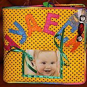 """Куклы и игрушки ручной работы. Ярмарка Мастеров - ручная работа Развивающая  книжка """"Чудеса"""". Handmade."""