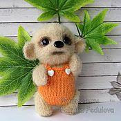 Куклы и игрушки handmade. Livemaster - original item Bear Aiko knitted toy gift. Handmade.