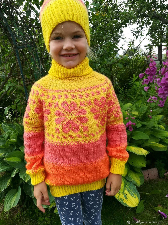 Одежда: свитер и шапочка лопапейса, Свитер, Санкт-Петербург,  Фото №1