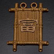 "Для дома и интерьера handmade. Livemaster - original item Амулет ""Иероглиф богатства"". Handmade."