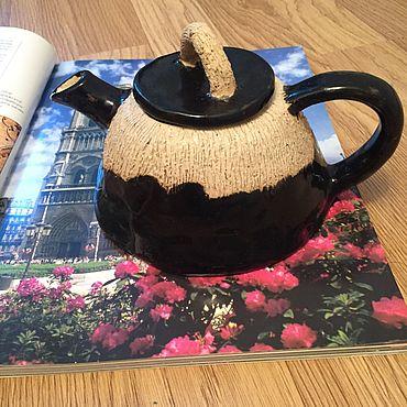 Посуда ручной работы. Ярмарка Мастеров - ручная работа Чайник ручной работы. Handmade.