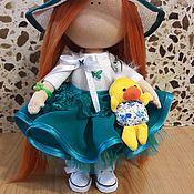 Куклы и игрушки ручной работы. Ярмарка Мастеров - ручная работа Текстильная куколка Алиса.. Handmade.