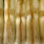 Материалы для творчества handmade. Livemaster - original item Luxurious fur Siberian red Fox. Skins tanned. Handmade.
