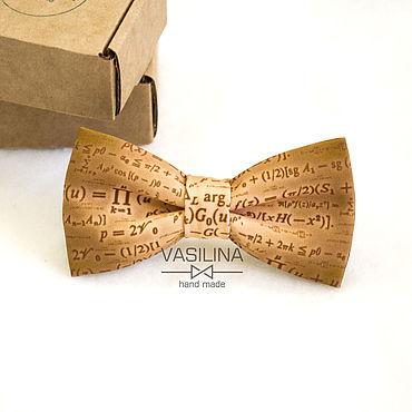 Accessories handmade. Livemaster - original item Bow tie mathematics. Handmade.