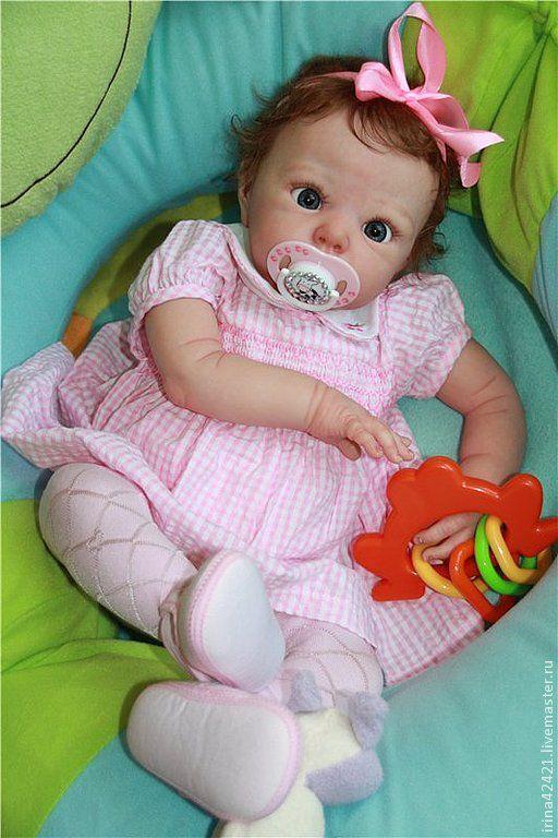 Куклы-младенцы и reborn ручной работы. Ярмарка Мастеров - ручная работа. Купить Кукла реборн Лола-3. Handmade.