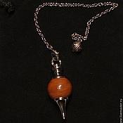 Фен-шуй и эзотерика handmade. Livemaster - original item Jasper 40mm Gemstone Ball Pendulum Chakra Pendant. Handmade.
