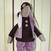 Куклы и игрушки ручной работы. Ярмарка Мастеров - ручная работа Зайка Виолетта. Handmade.