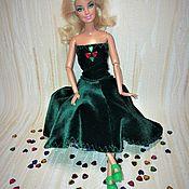 Одежда для кукол ручной работы. Ярмарка Мастеров - ручная работа Одежда для Барби вечернее платье. Handmade.