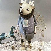 Куклы и игрушки ручной работы. Ярмарка Мастеров - ручная работа Олень Рудольф. Handmade.