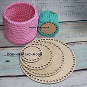 Материалы для творчества handmade. Livemaster - original item the bottoms of the baskets for the bottom. Handmade.
