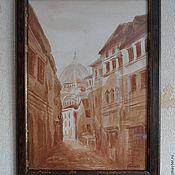 Картины и панно handmade. Livemaster - original item The heart of the old city.. Handmade.