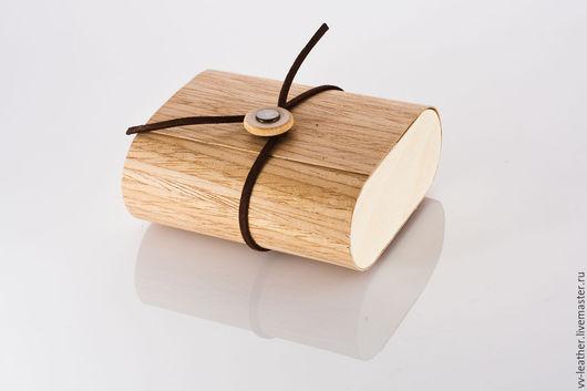 Упаковка из дубового шпона