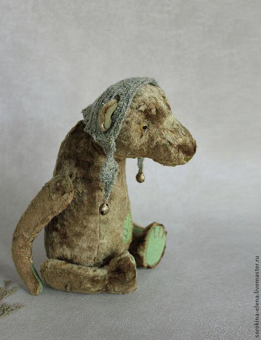 Мишки Тедди ручной работы. Ярмарка Мастеров - ручная работа. Купить Лесной мед. Handmade. Оливковый, медвежонок, винтажный плюш