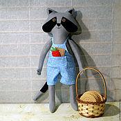 Куклы и игрушки handmade. Livemaster - original item Little Raccoon toy for children and adults. Handmade.