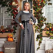 Одежда ручной работы. Ярмарка Мастеров - ручная работа Тёплое платье в макси длине. Handmade.