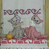 Куклы и игрушки ручной работы. Ярмарка Мастеров - ручная работа Кошечки на окошечко. Handmade.