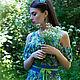 """Платья ручной работы. Платье """"Legend. Wildflowers"""". Anna Paromskaya. Интернет-магазин Ярмарка Мастеров. Цветочный, весна-лето 2016"""