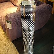 Для дома и интерьера handmade. Livemaster - original item Mirror mosaic vase. Handmade.