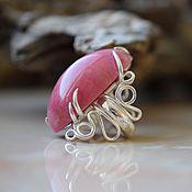 Украшения handmade. Livemaster - original item Jewelry set with rhodonite. Handmade.