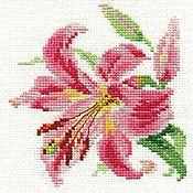 """Схемы для вышивки ручной работы. Ярмарка Мастеров - ручная работа Набор для вышивания Алиса """"Лилия"""". Handmade."""