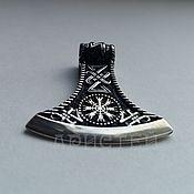 """Украшения handmade. Livemaster - original item Кулон """"Топор викинга"""". Handmade."""