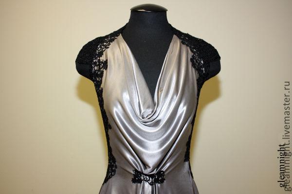 Steel long formal gown, Dresses, Ekaterinburg,  Фото №1