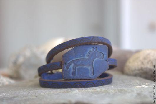 """Браслеты ручной работы. Ярмарка Мастеров - ручная работа. Купить Браслет """"Я люблю свою лошадку..."""". Handmade."""