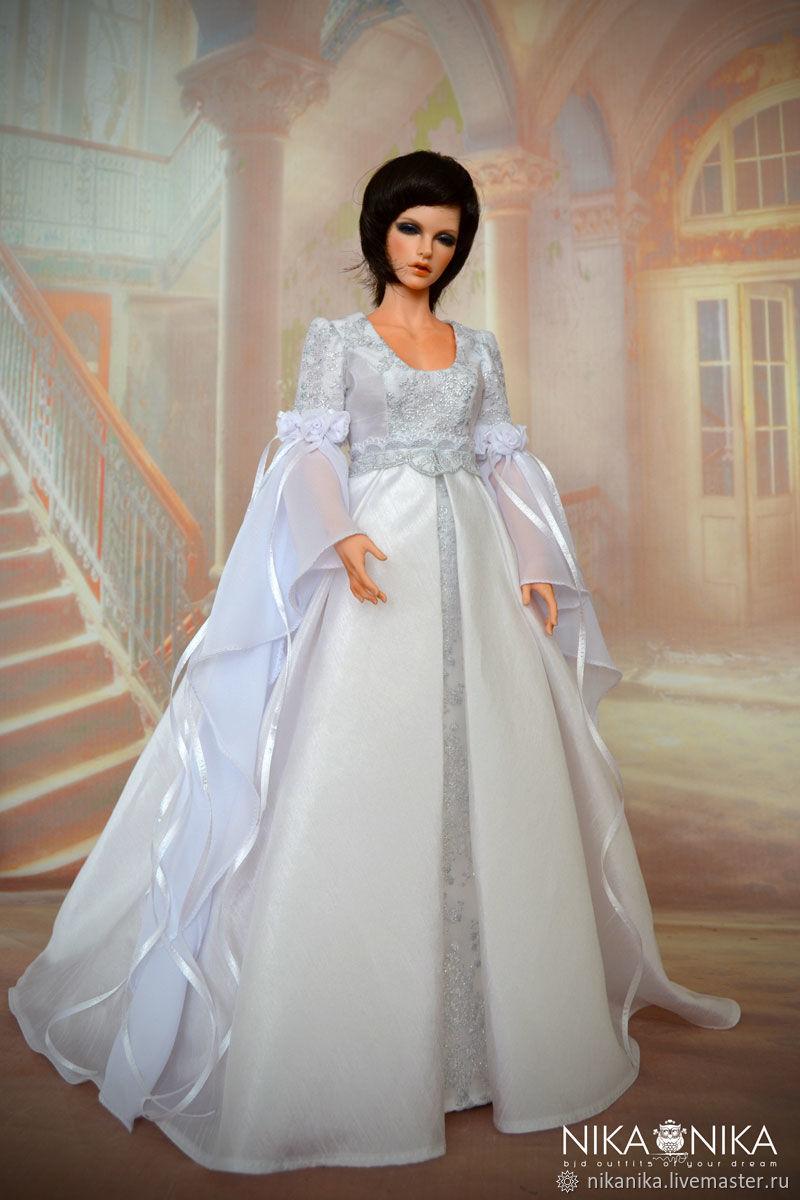 f6ff461d21d0 Платье для · Одежда для кукол ручной работы. Эльфийское платье для кукол  1 4 .