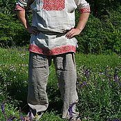 Народные костюмы ручной работы. Ярмарка Мастеров - ручная работа ПОРТЫ с широким шагом. Handmade.