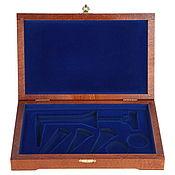 Сувениры и подарки handmade. Livemaster - original item Box for a gift set of wine accessories. Handmade.