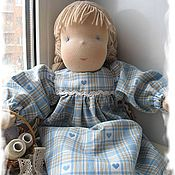 Куклы и игрушки ручной работы. Ярмарка Мастеров - ручная работа Вальдорфская кукла Алина. Handmade.