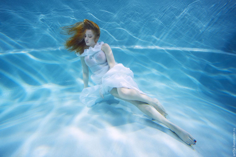 рыжие женщины фото под водой