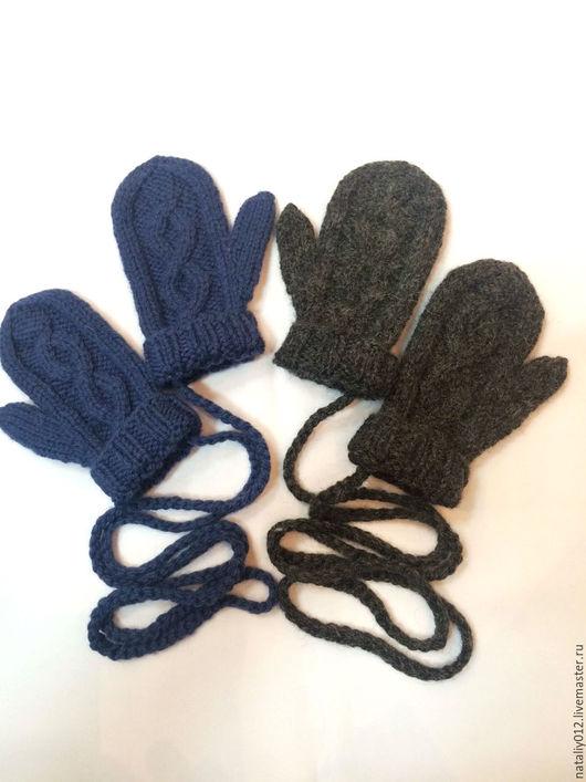 """Варежки, митенки, перчатки ручной работы. Ярмарка Мастеров - ручная работа. Купить Детские варежки """"Норвегия-2"""". Handmade."""
