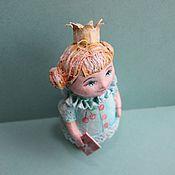 Подарки к праздникам ручной работы. Ярмарка Мастеров - ручная работа Принцесса с букварём. Handmade.