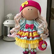 Тыквоголовка ручной работы. Ярмарка Мастеров - ручная работа Интерьерная куколка ручной работы. Handmade.