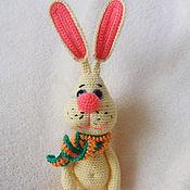 Куклы и игрушки handmade. Livemaster - original item Bunny Proshka.Knitted toy.. Handmade.