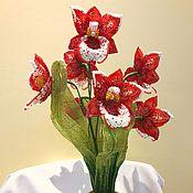 Цветы ручной работы. Ярмарка Мастеров - ручная работа Мильтония - орхидея. Handmade.