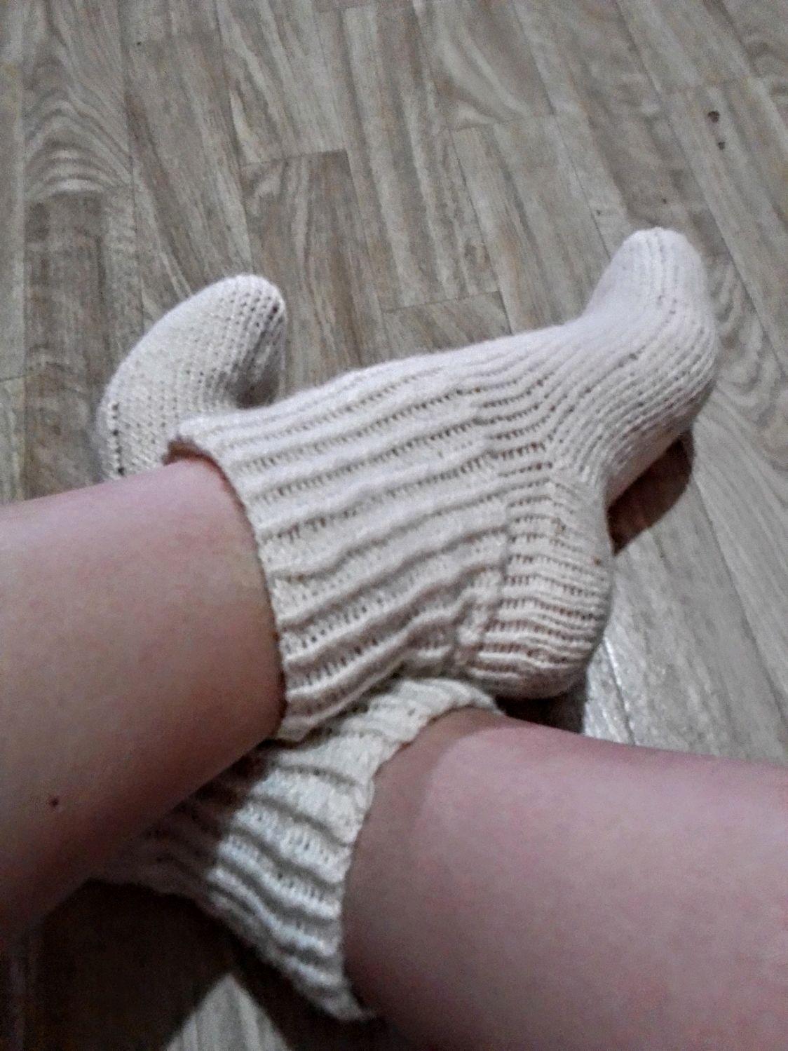 Вязаные носки женские, Носки, Буденновск,  Фото №1