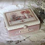 Для дома и интерьера handmade. Livemaster - original item The box is big