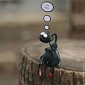 """Куклы и игрушки ручной работы. Ярмарка Мастеров - ручная работа Шерстяная муха """"Хочу любви..."""". Handmade."""