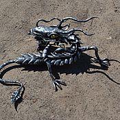 Для дома и интерьера ручной работы. Ярмарка Мастеров - ручная работа Дракон из стали, ковка. Handmade.